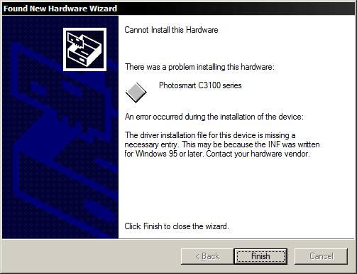 hp photosmart c3100 software free