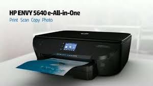 hp envy 5640 e all in one printer manual