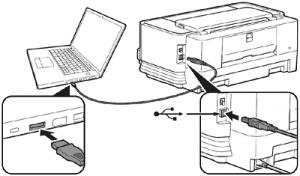Cavo USB collegamento Stampante Computer