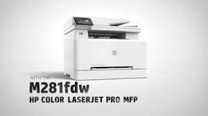 Multifunzione Hp Color Laserjet pro M281fdw